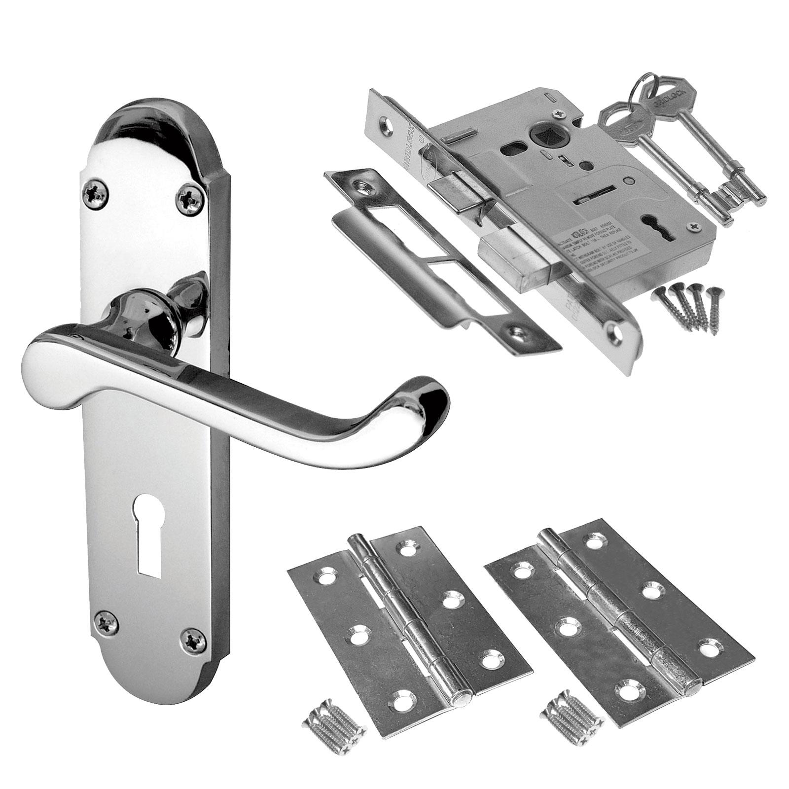 Epsom Internal Door Handle Packs Latch Lock And Bathroom Door Handles Packs Ebay