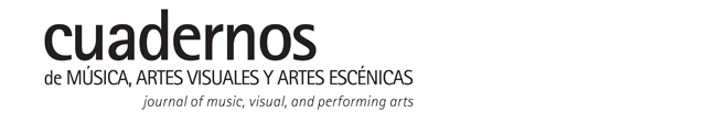Llamado a publicar – Cuadernos de música, artes visuales y artes escénicas.