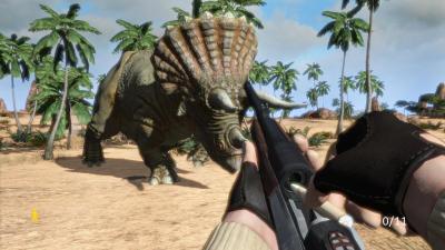 Fotograma del videojuego Carnivores - Dinosaur Hunter HD