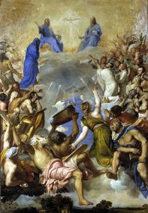 Tiziano, La Gloria, 1551 - 1554, Museo Nacional del Prado, Madrid.