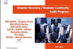 DRP BCP Audit Program
