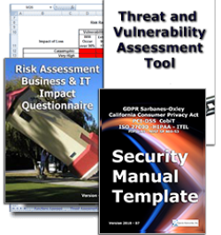 Security Manual Template - Common Security Concersn