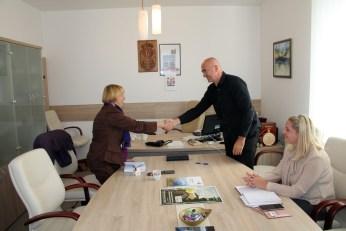 Potpisivanje protokola o saradnji sa opštinom Knić