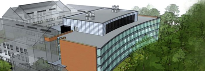 Landscape Installation for Johns Hopkins University Mudd Hall Expansion