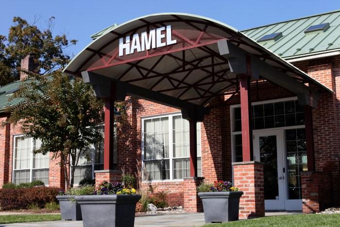 Landscaping for Hamel Builders Corporate Office