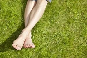 tanning lawn