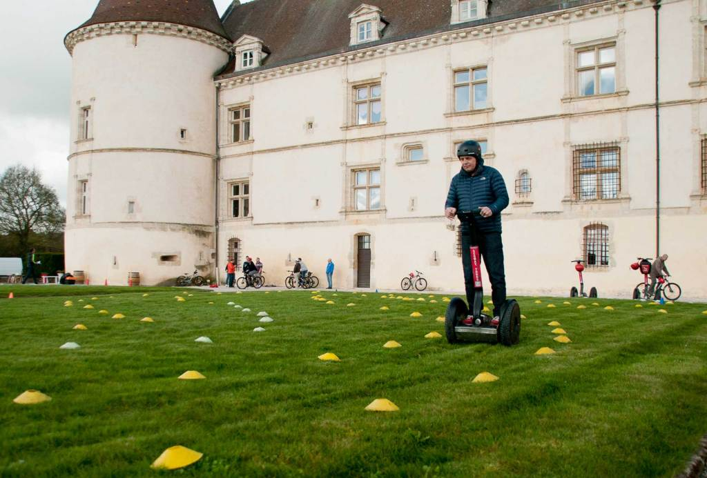 Chalenge High Tech - Drone, segway, tir laser, orientation GPS Team building Lyon
