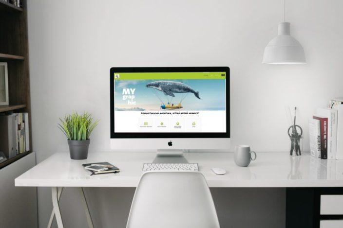 Web pro reklamní agenturu | www.mygraphic.cz