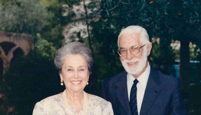 Figura 1. Julio 1990. Retrato de Leonardo y Marisa