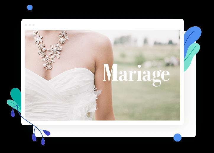 creer un site de mariage