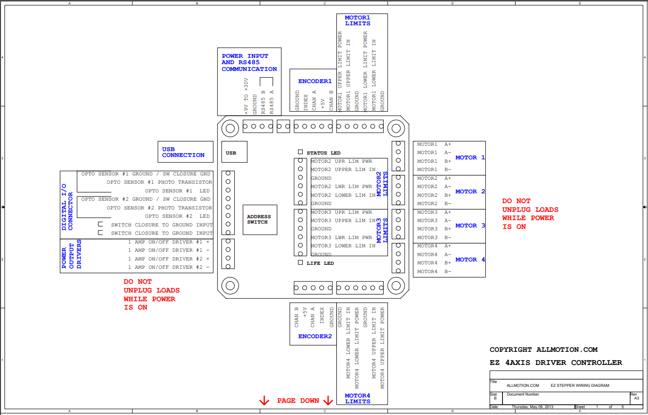 Allmotion Stepper Starter Kits Sk 4axis17xr