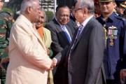 President off to Singapore