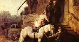 Rembrandt, le bon samaritain