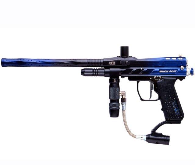 Kingman Spyder Pilot Acs Paintball Gun