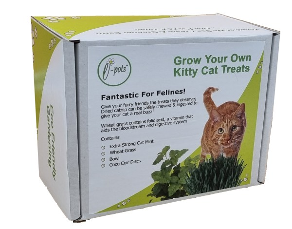 e-pots Grow Your Own Kitty Cat Treats