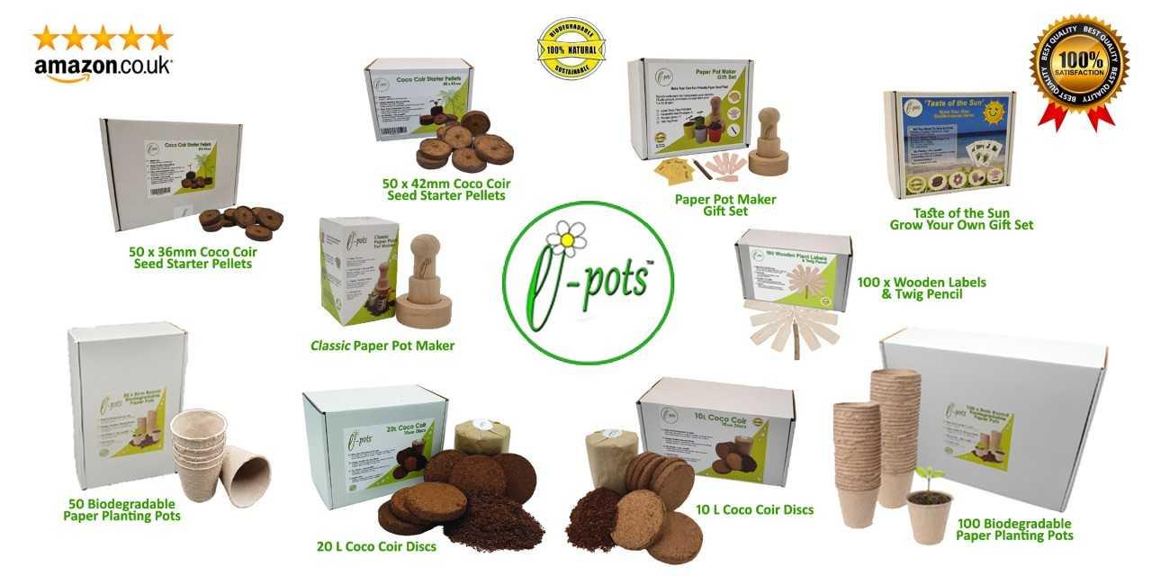 e-pots product range Spring 2021