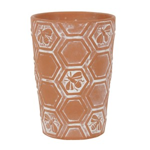 terracotta honeycomb pot 1