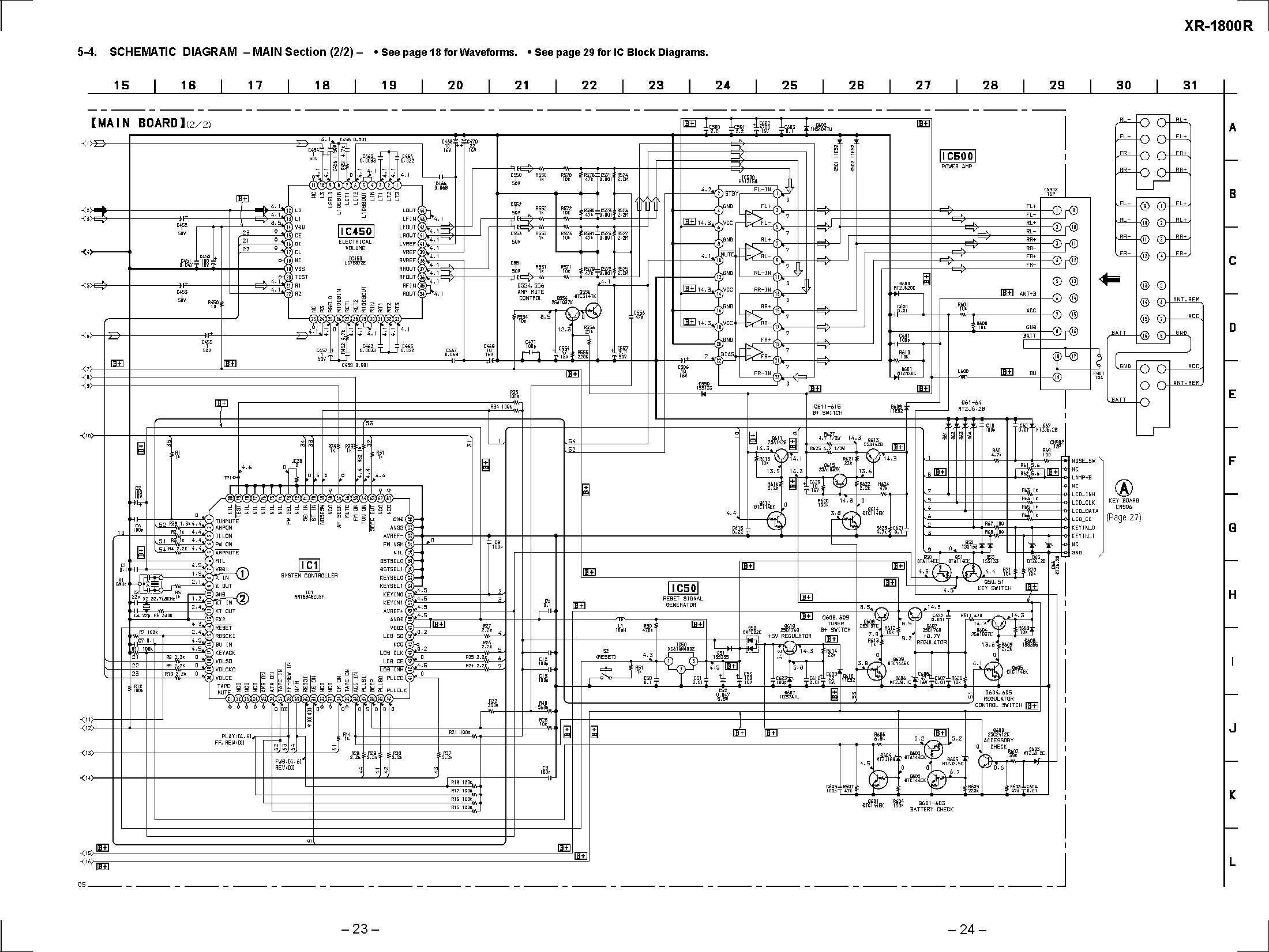 Sony Xr R Schematic Diagram In Format E