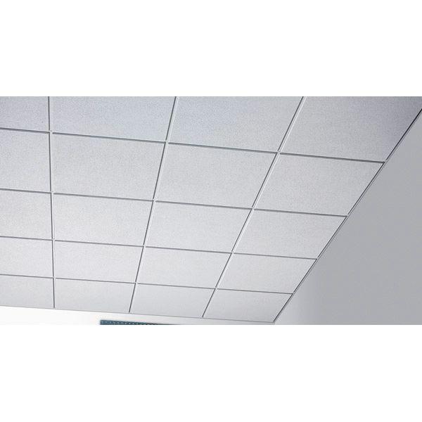 Armstrong Dalle De Plafond Sahara Board 2516m 60x60 Cm Ep 15 Mm E Sfic