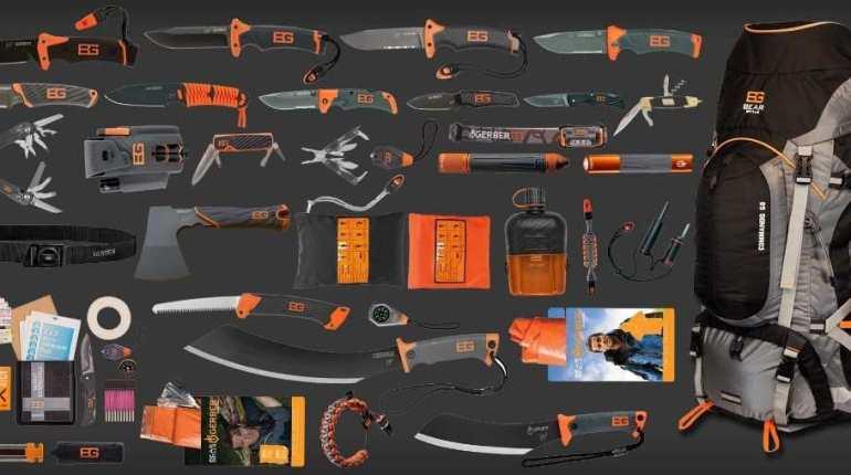 Инструменти и екипировка Gerber Bear Grylls
