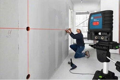 Лазерен нивелир, проектиращи линия или кръстосани линии