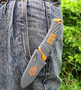 Компактен нож Bear Grylls COMPACT FIXED BLADE - фиксиран нож