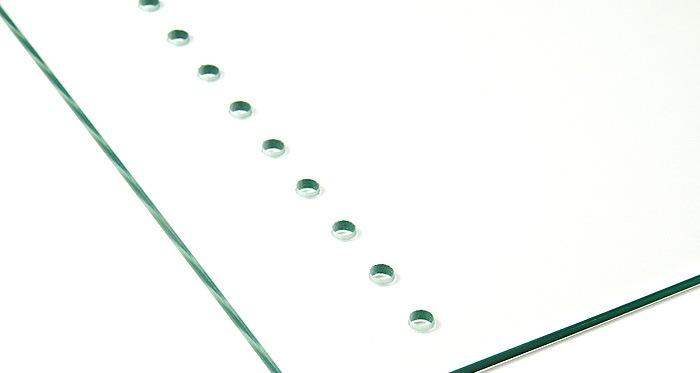 Пробиване със специализирано свредло за стъкло