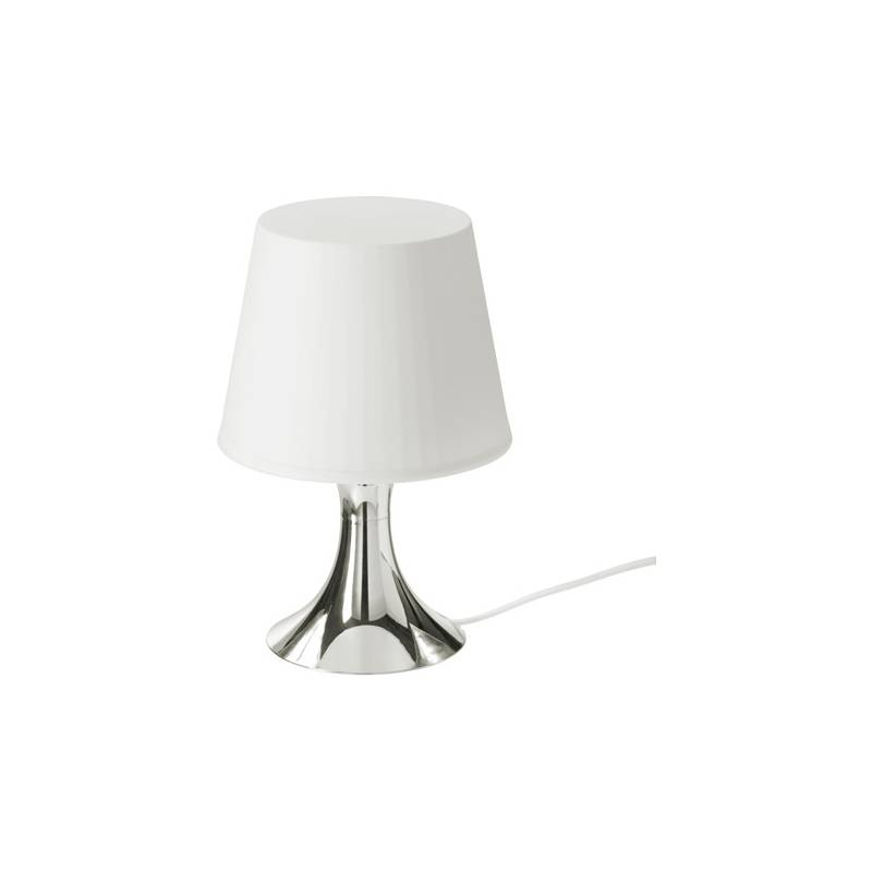 Ikea Lampan Lampada Da Tavolo Color Argento Biancoclasse