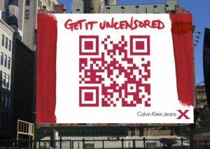 Código QR en la publicidad