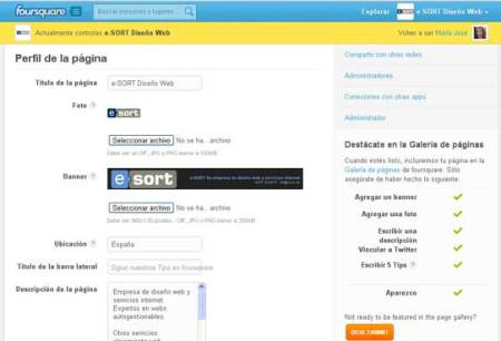 Foursquare Config