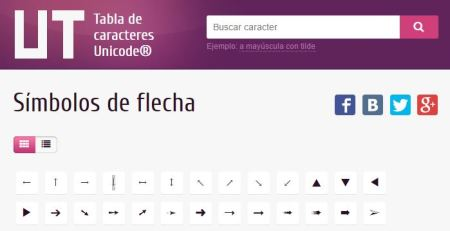 iconos-en-newsletters-tabla-unicode
