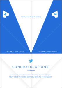 Twitter Flight School