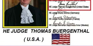 DAY 7th THOMAS BUERGENTHAL FROM THE USA SIGNS THE TERRITORIAL TREASURES IN 2007 AS JUDGE OF THE INTERNATIONAL COURT OF JUSTICE. THE ACCOUNTS WITH LARGE AMOUNTS IN USD USD AND THE 198 BRITTON WOODS AGREEMENT FINANCIAL CONDITION. WHERE HIS GREEK COUNTRY IS A MEMBER (Government Gazette 315 / 27-12-1945) WHICH HAS HEAVY AMOUNT ... !!! global trusts