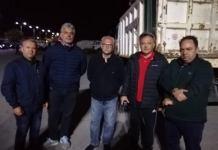 Ο δήμαρχος Ωρωπίων Γιώργος Γιασημάκης, ο αντιδήμαρχος Κωνσταντίνος Λίτσας και μέλη του Δ.Σ. του Δήμου