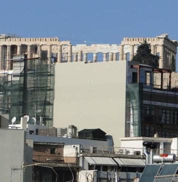 Στον αναπτυξιακό νόμο υπό ανέγερση πολυόροφο ξενοδοχείο στη σκιά της Ακρόπολης