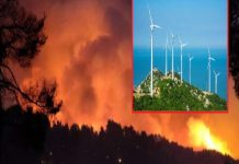 Ντοκουμέντα: Οι δήμοι που καίγονται στη Β.Εύβοια είχαν απορρίψει απόφαση της ΡΑΕ για αιολικά πάρκα πριν 15 μέρες! (φωτο)