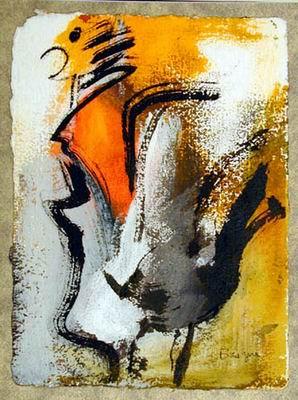 tableau abstrait 3357