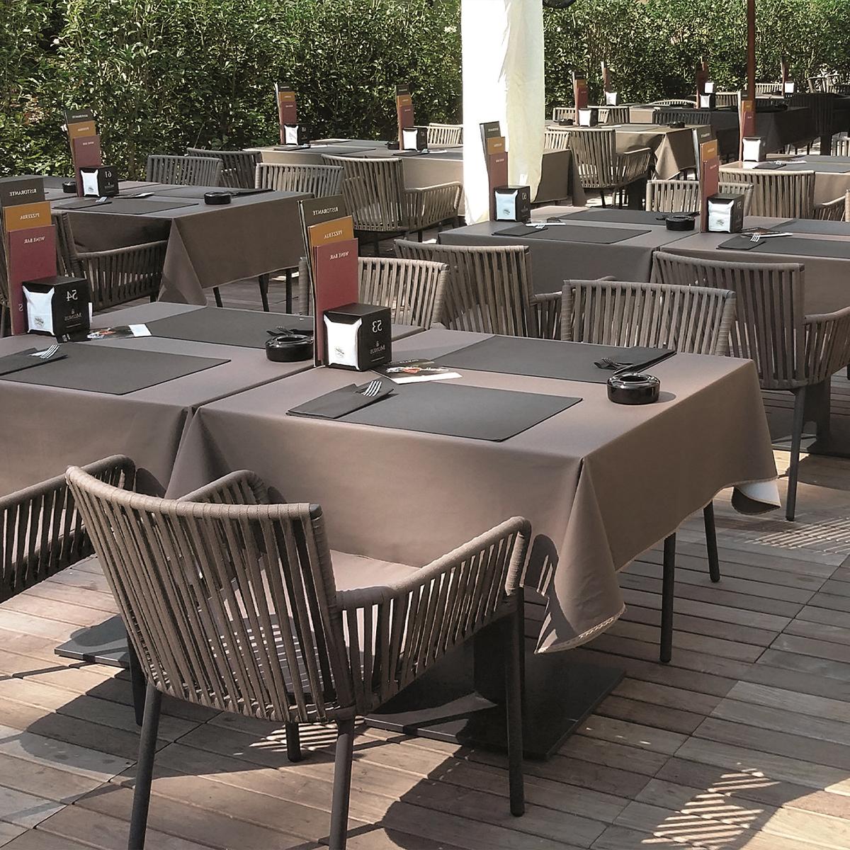mobilier terrasse restaurant bar