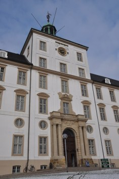 Gottorp Castle lies in Schleswig, south of Flensburg, once the capital of the duchy of the same name
