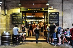Bilbao is filled with Pintxos bars and social life