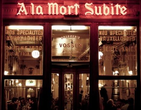 """""""A La Mort Subite"""" has style"""
