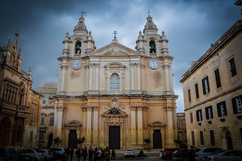 The Baroque cathedral of 1699