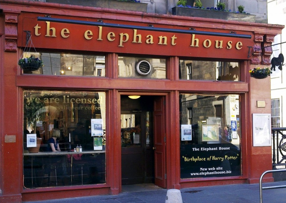 Harry Potter's birthplace: The café in Edinburgh