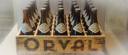 Orval was the first Trappist beer to be sold all around Belgium.