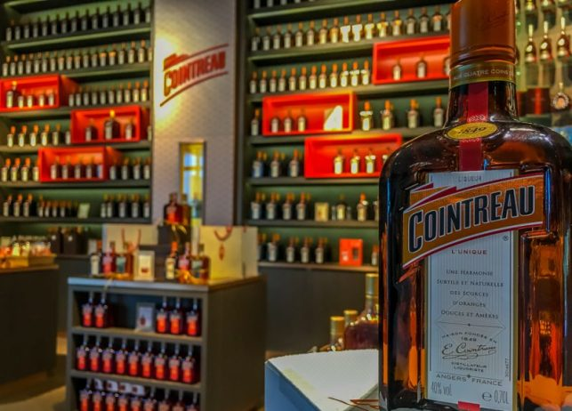 A little bit of history about the orange liqueur, they put in your Cosmopolitan or Sidecar