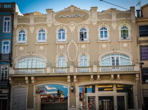 Newly renovated Hotel Moov where only the facade bears witness to its Art Nouveau prelude
