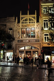 Up the road another true gem awaits: Livraria Lello & Irmão
