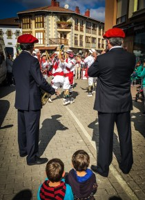 The Basque have numerous ways of celebrating the old customs, so their children won't forget their heritage