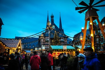 As Marktplatz is the heart and centre of a town, it's also here. you'll find Christmas celebrations and markets.