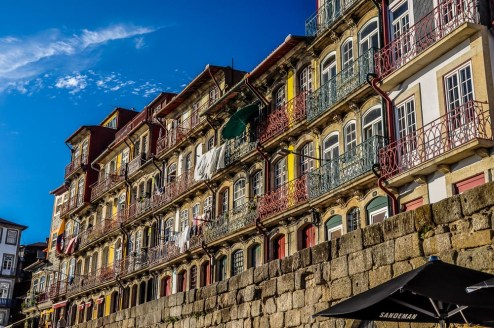 Tourist attraction no. #1 in Porto: Ribeira at the waterfront